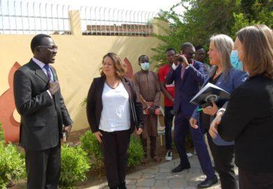 TCHAD: Une délégation des diplomates des États Unis d'Amérique, visite le Centre Americain Hapinness